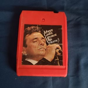Johnny Cash's Greatest Hits Volume 1 Eight Track